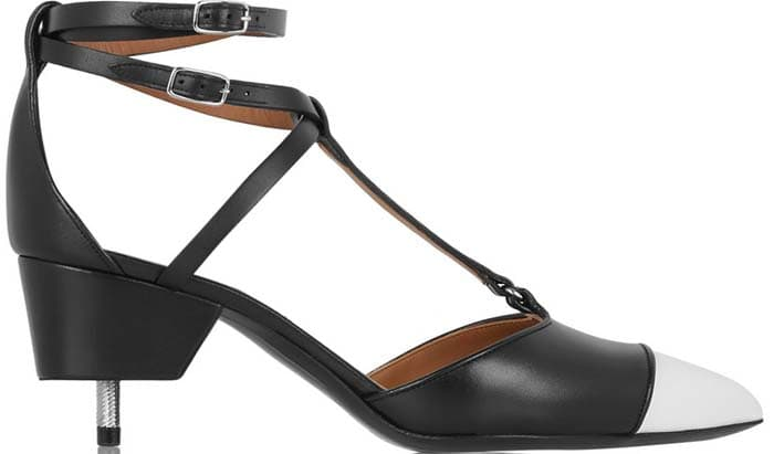 Givenchy 'Maremma' Leather Point-Toe Pumps
