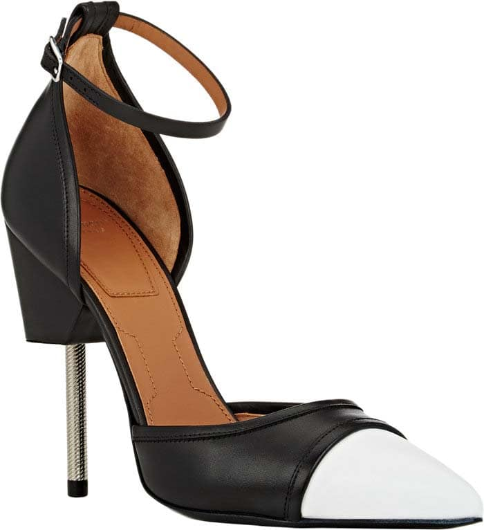 Givenchy 'Matilda' Pumps in Black and White Leather
