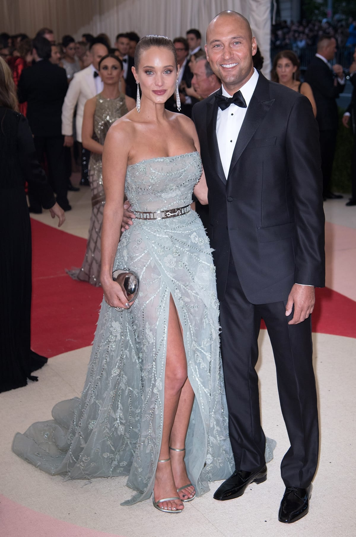 Sports Illustrated Swimsuit Issue model Hannah Davis and former New York Yankees shortstop Derek Jeter married on July 9, 2016, in Napa Valley