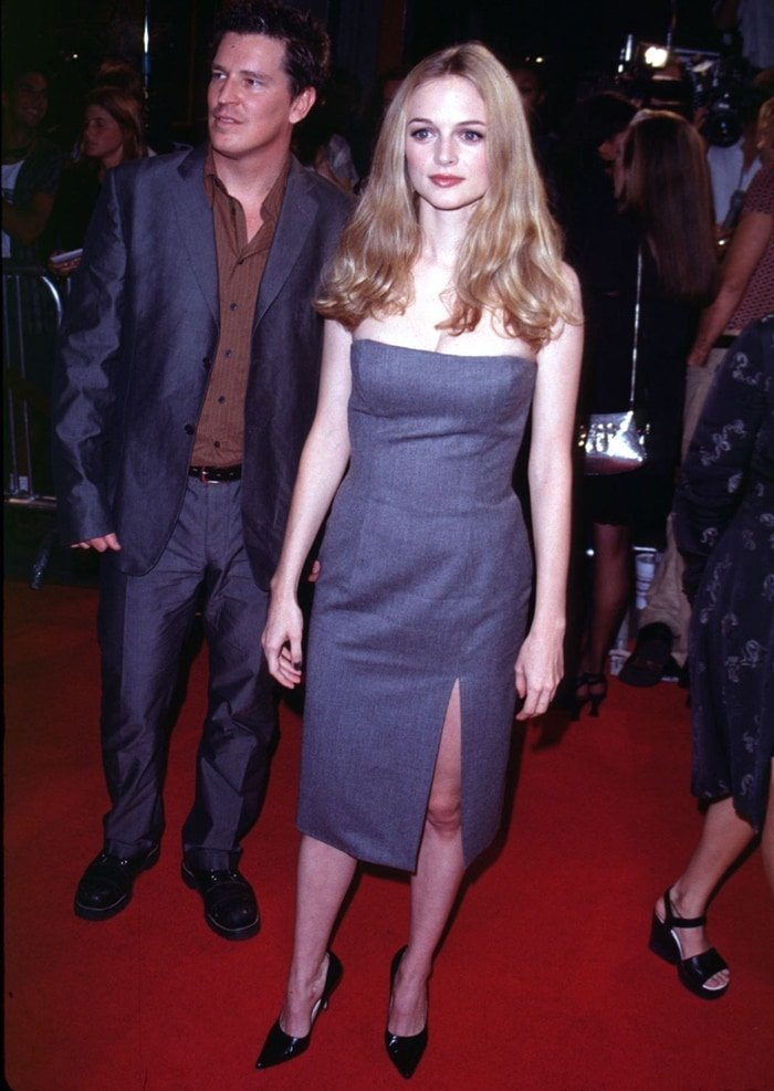 Heather Graham was 27 at the premiere of Boogie Nights in 1997