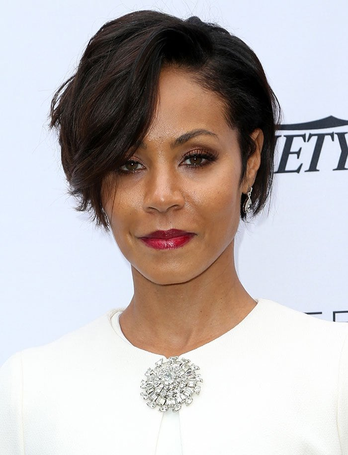 Jada Pinkett Smith wears her hair down at Variety's Creative Impact Awards and 10 Directors to Watch Brunch