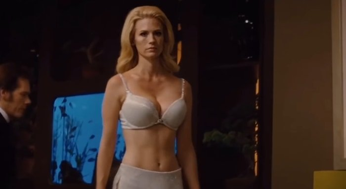 January Jones portrayed Emma Frost in X-Men: First Class