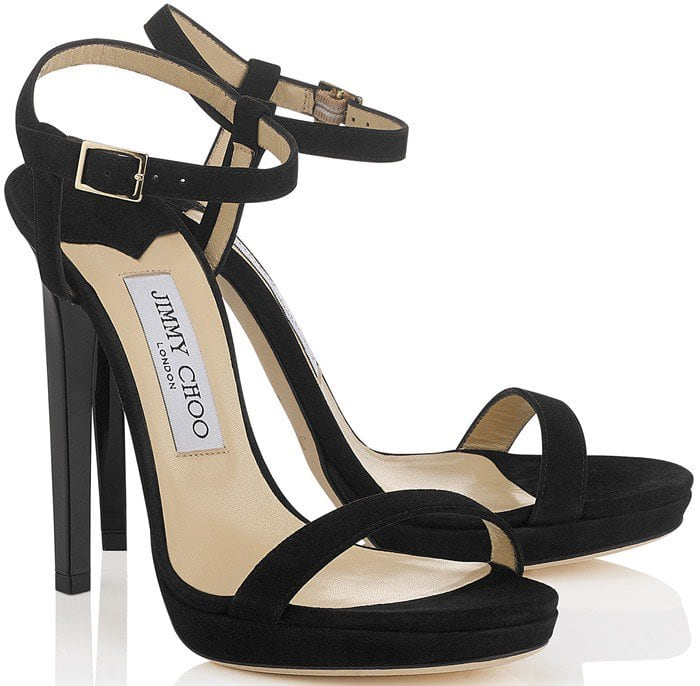 Simple and elegant, Jimmy Choo's 'Claudette' platform sandals will never go out of style