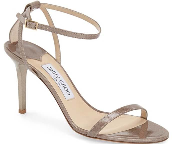 Jimmy Choo 100mm Minny Patent Sandals