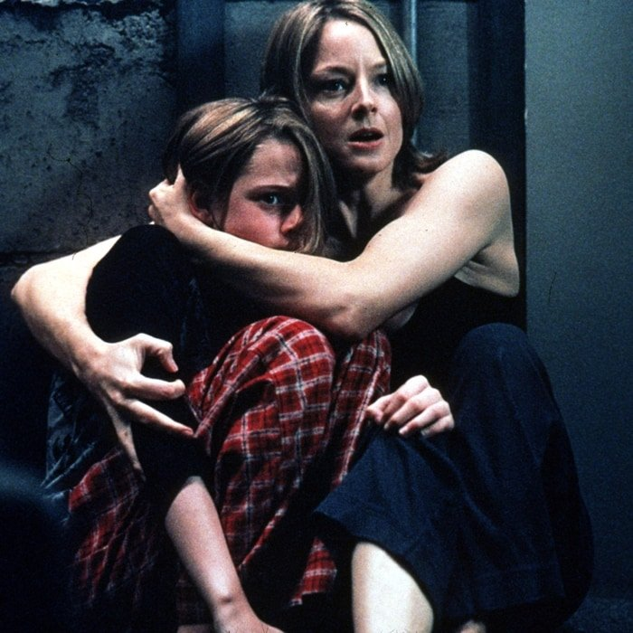 Jodie Foster and Kristen Stewart starred as a mother and daughter in Panic Room