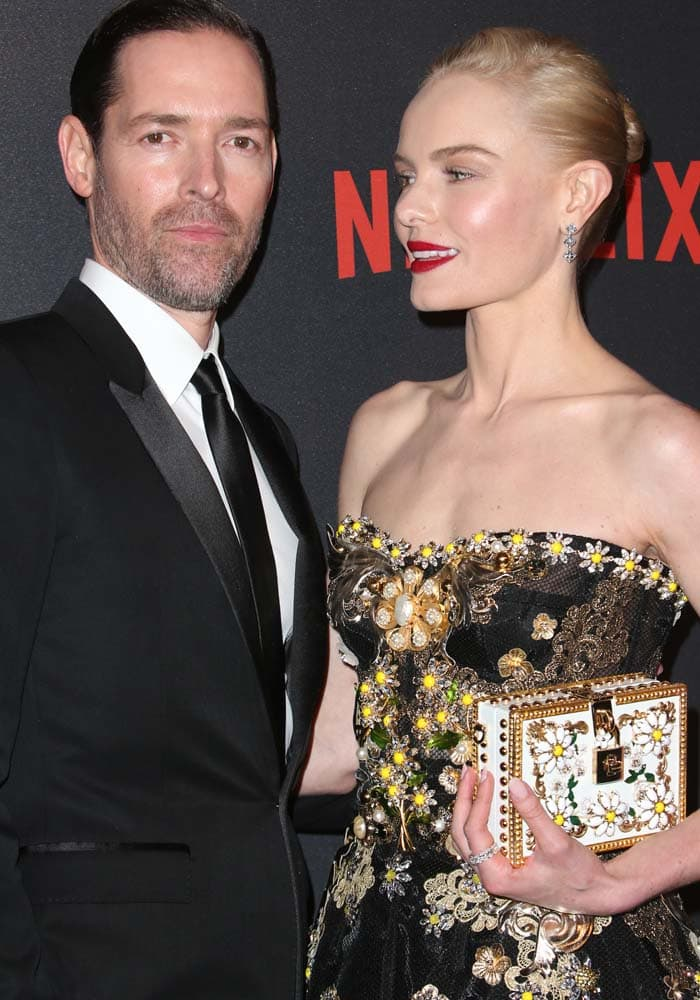 Kate Bosworth Golden Globes After Party Dolce Gabbana 5