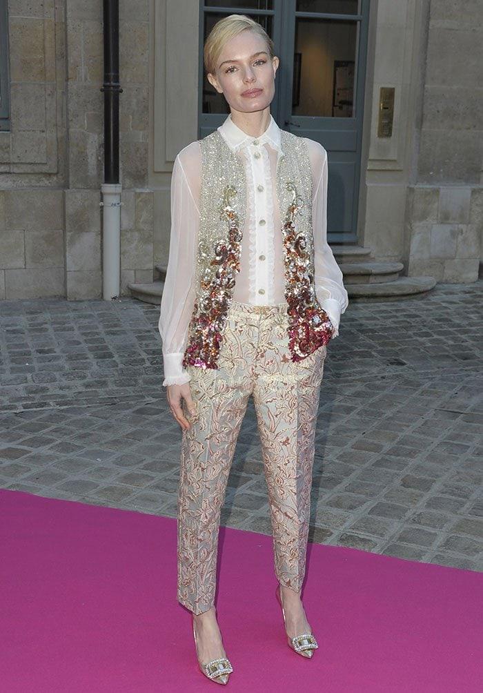Kate-Bosworth-PFW-Schiaparelli-show-Paris-Fashion-Week