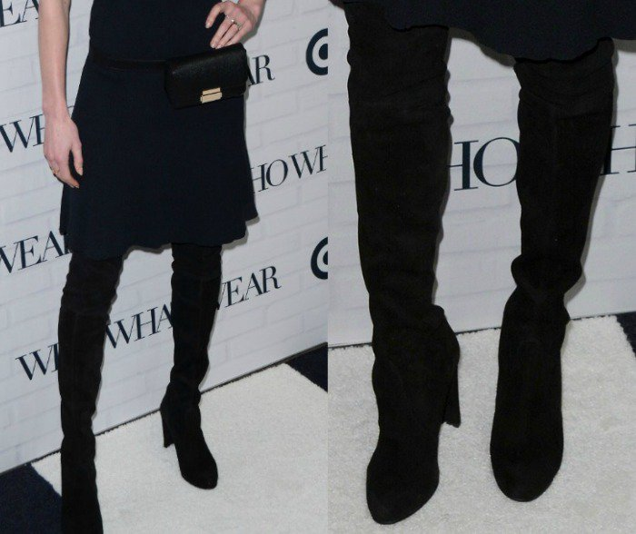 Kate Bosworth WhoWhatWear Target Launch Boots