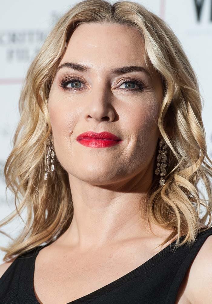 Kate Winslet London Critics Circle Rupert Sanderson 1