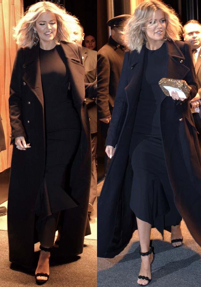 Khloe Kardashian New York Book Alaia 2