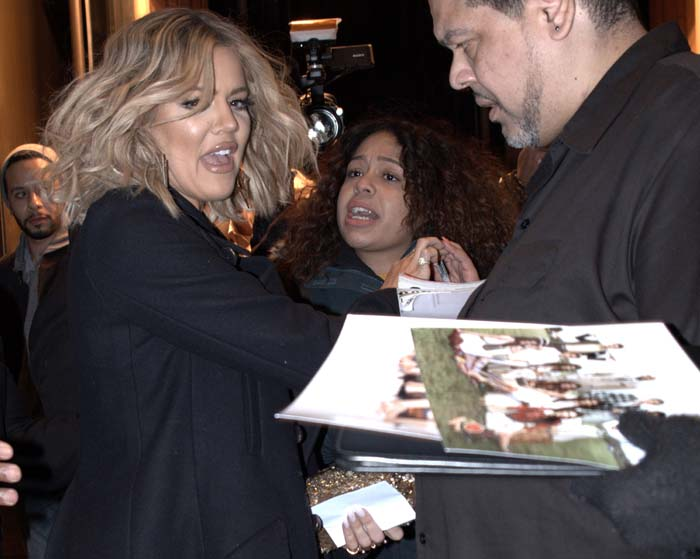 Khloe Kardashian New York Book Alaia 4