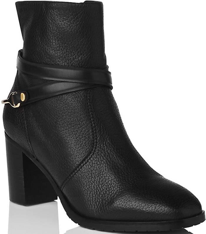 "L.K. Bennett ""Ruth"" Ankle Boots in Black"