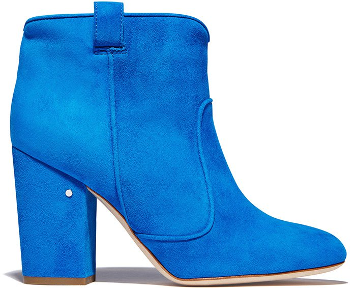 Laurence-Dacade-Pete-Blue-Suede-Ankle-Boots