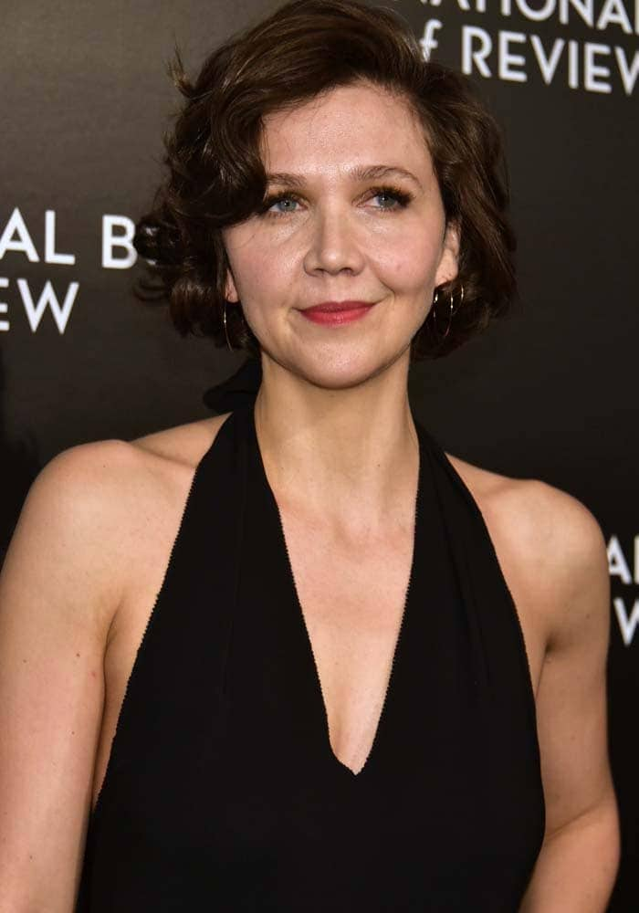Actress Maggie Gyllenhaal attends 2015 National Board of Review Gala