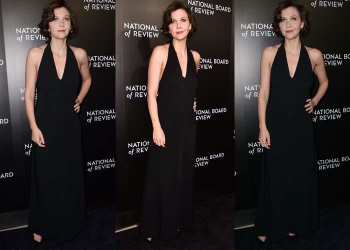 Maggie Gyllenhaal's all-black ensemble