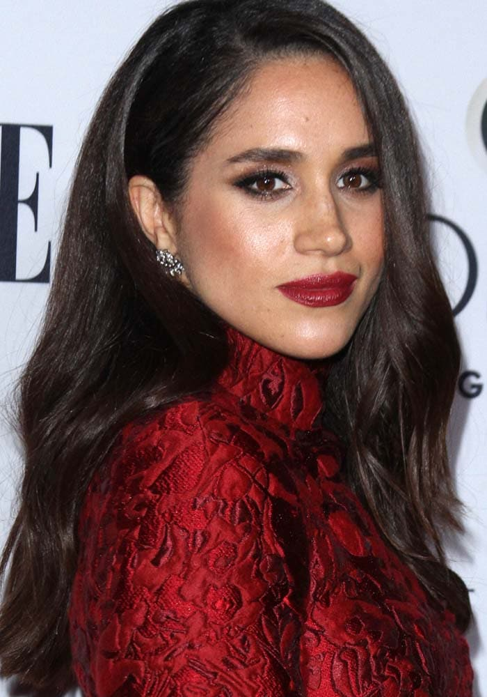 Meghan Markle attends ELLE's Women In Television Celebration presented by Hearts on Fire Diamonds and Olay held at the Sunset Tower Hotel in Los Angeles on January 20, 2016