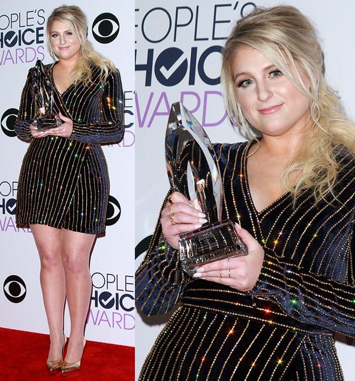 Meghan-Trainor-Favorite-Album-People's-Choice-Awards