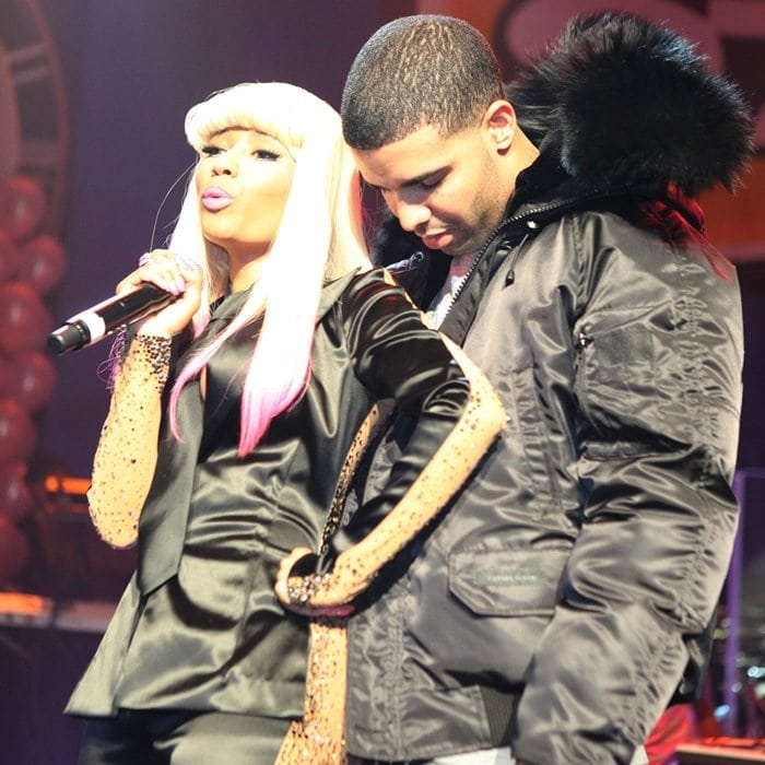 Drake and Nicki have never actually confirmed or denied their relationship