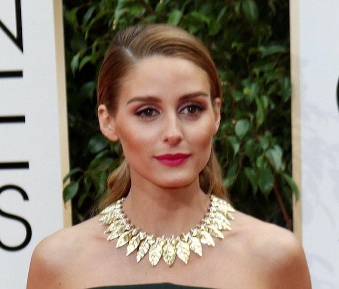Olivia Palermo GG 2016 necklace