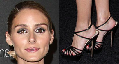 60adf240cb9 Olivia Palermo Brings Fashion A-Game to Golden Globes After-Party in  Giambattista Valli Cape Dress and Charlotte Olympia Heels