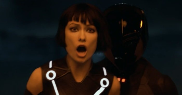 Olivia Wilde was 25 years old when filming Disney's Tron: Legacy as Quorra