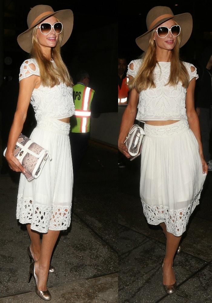 Paris Hilton LAX YNS 1
