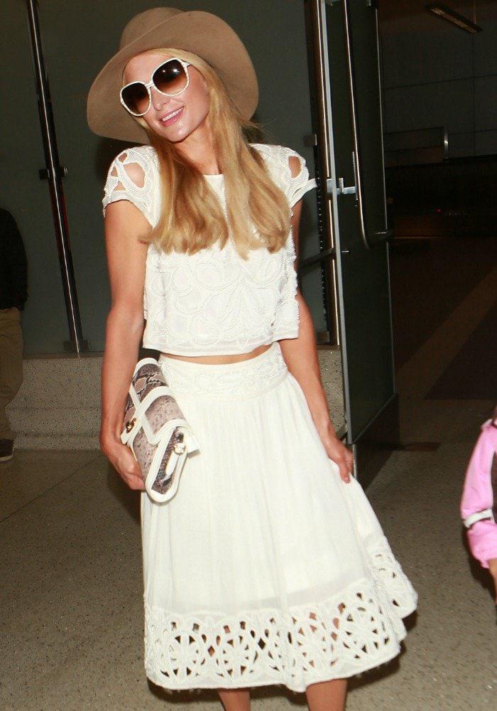 Paris Hilton LAX YNS 2