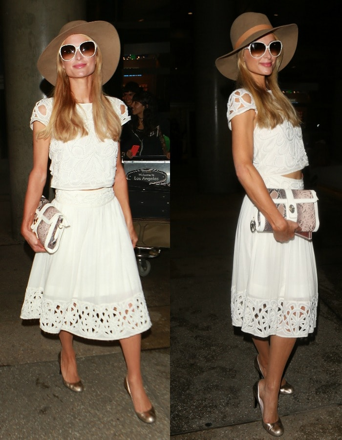 Paris Hilton LAX YNS3