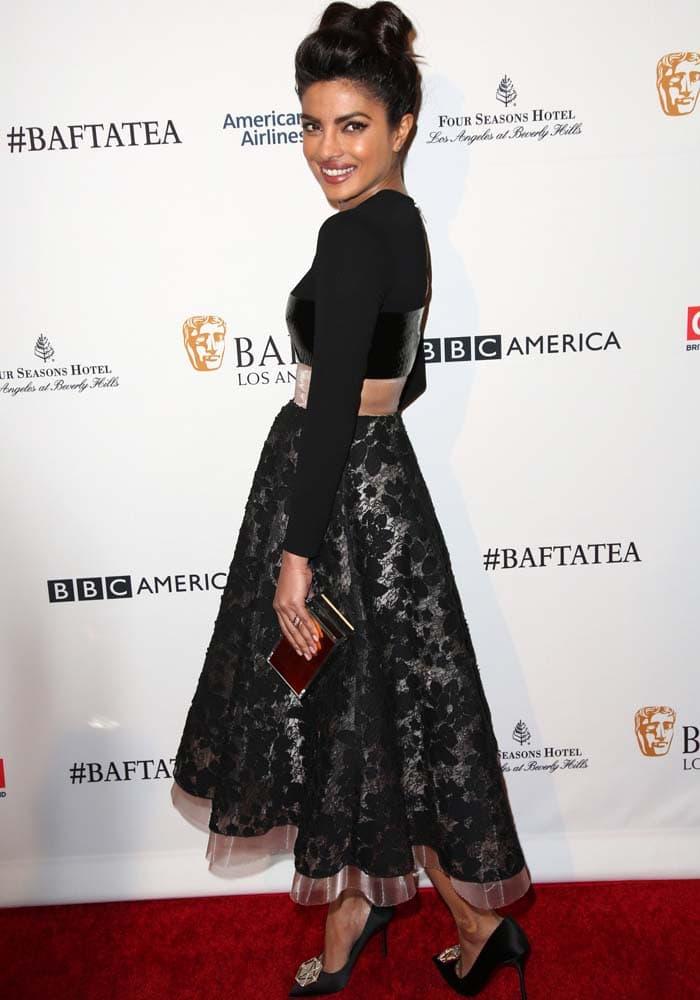 Priyanka Chopra BAFTA Nicholas Kirkwood 4