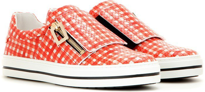 Roger Vivier Sneaky Viv leather sneakers