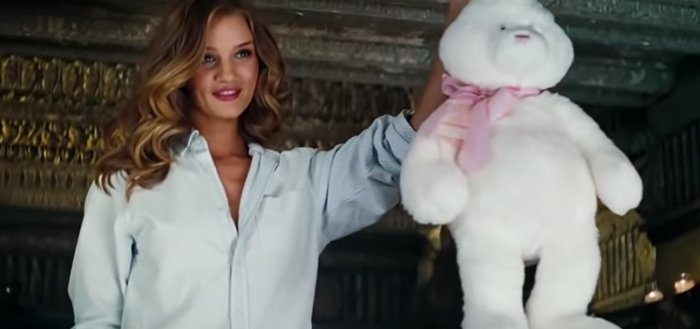 Rosie Alice Huntington-Whiteley as Carly Spencer in the 2011 film Transformers: Dark of the Moon