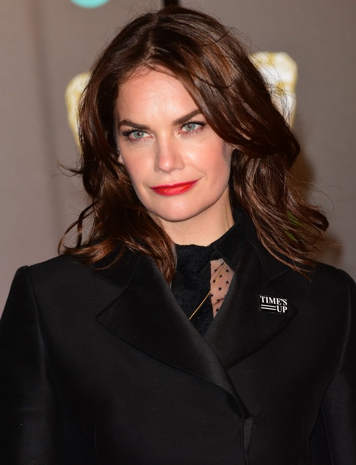 Ruth Wilson at the 2018 EE British Academy Film Awards held at Royal Albert Hall in London, England, on February 18, 2018