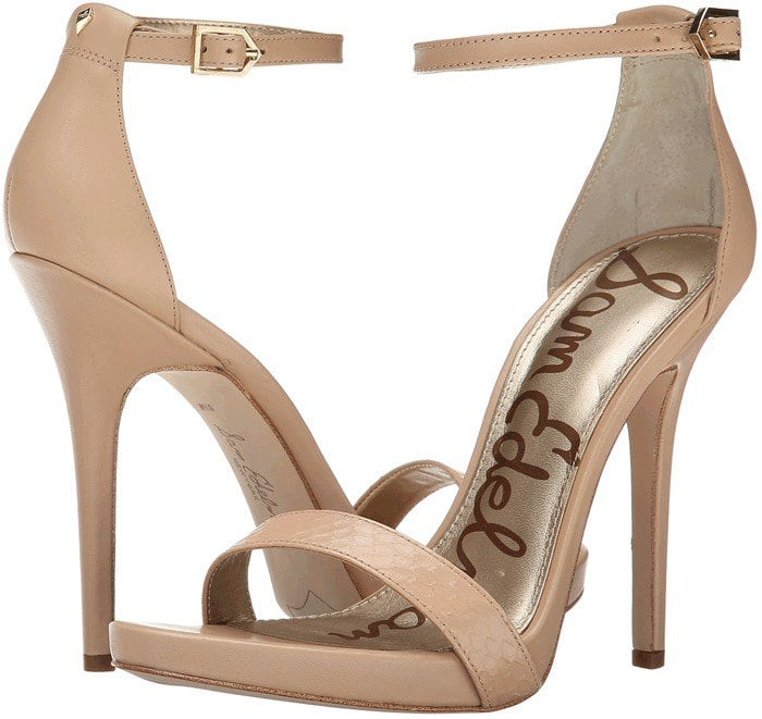 0676fbeaeeacf2 Welcome Spring in Floral Sam Edelman  Eleanor  Ankle Strap Sandals