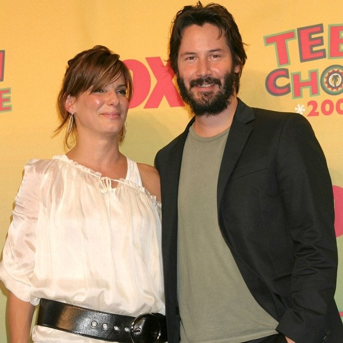 Sandra Bullock and Keanu Reeves were both 29-years-old when filming Speed