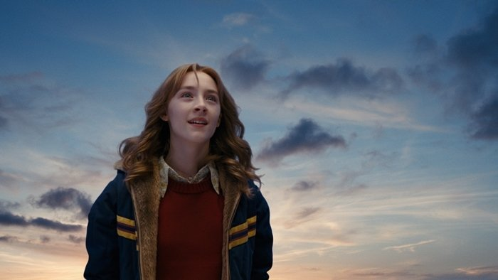Saoirse Ronan was 13-years-old when filming The Lovely Bones