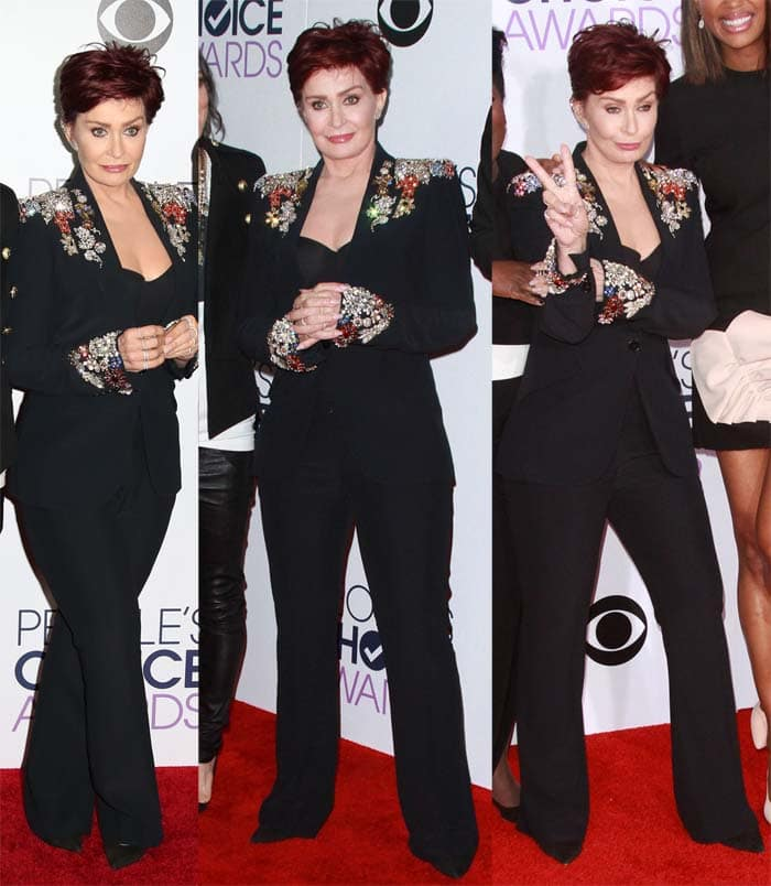 Sharon Osbourne Peoples Choice 20164