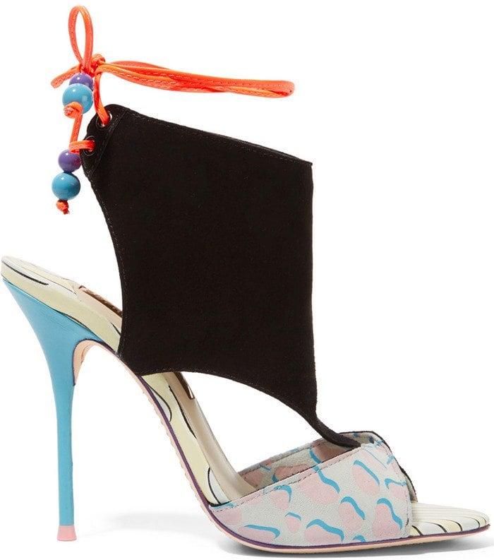 Sophia Webster Bobbie Twist suede sandals