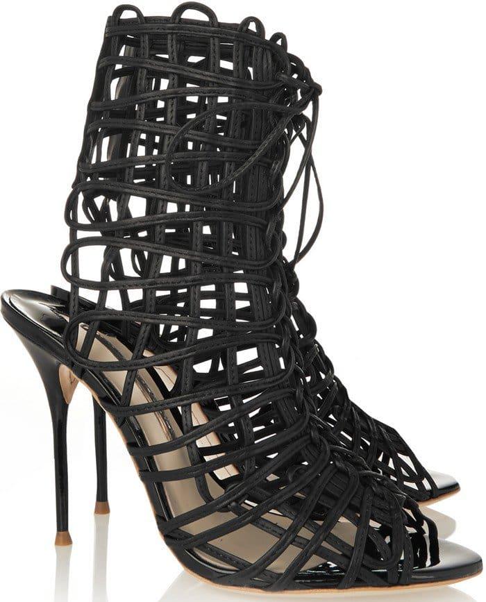 Sophia Webster Delphine Cage Gladiator Sandal