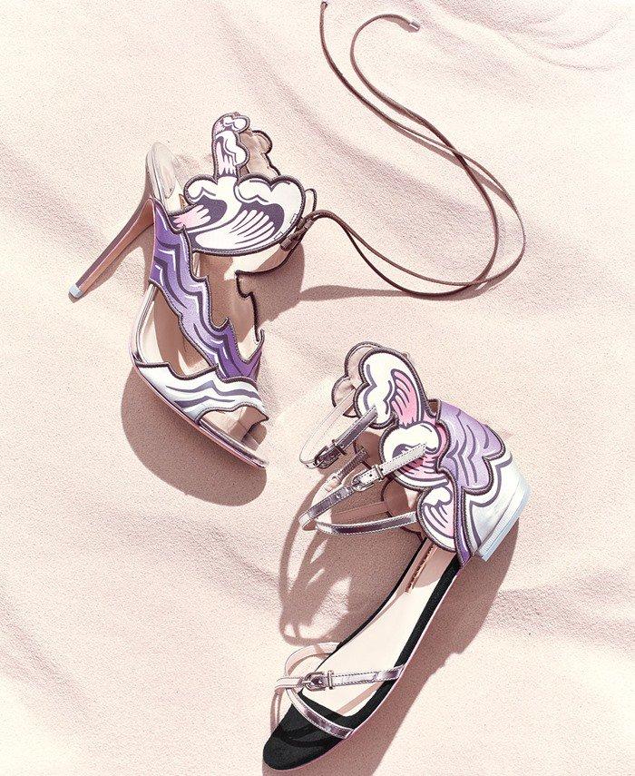 Sophia Webster Heaven Tempest Orchid Slingback Sandal