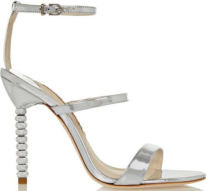 "Sophia Webster ""Rosalind"" Crystal Heel Sandals"