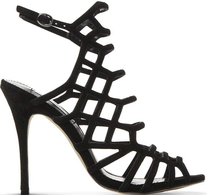 "Steve Madden ""Slithur"" Caged Sandals"