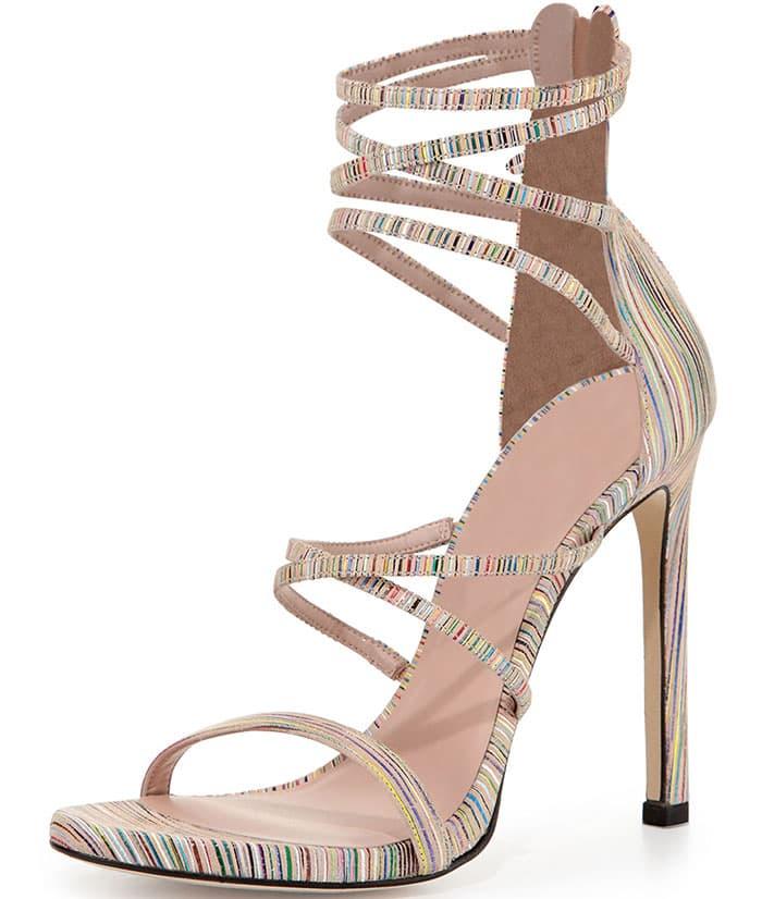 Stuart-Weitzman-Myex-Striped-Strappy-Sandals