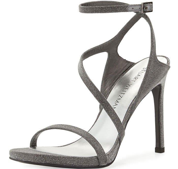 Stuart-Weitzman-Sultry-Asymmetric-Shimmer-Sandals