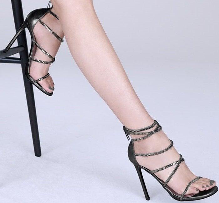 Stuart Weitzman 'XChain' Sandal