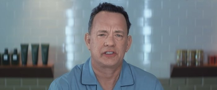 "Tom Hanks stars in the music video for Carly Rae Jepsen's song ""I Really Like You"""