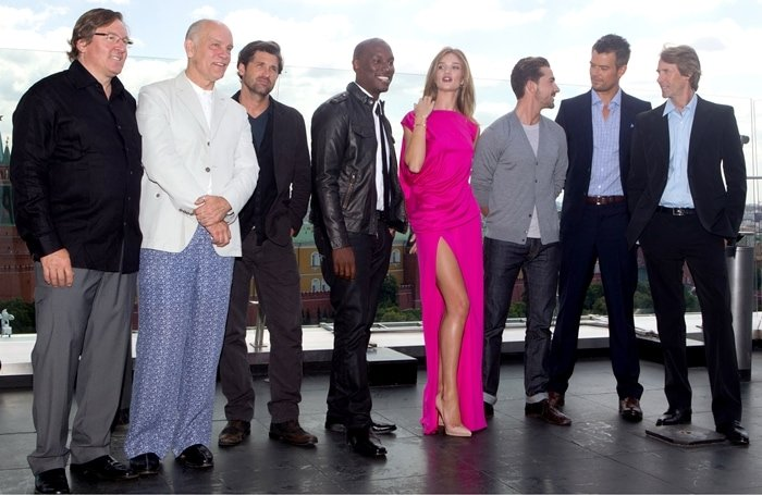 Premiere of Transformers: Dark of the Moon in Moscow