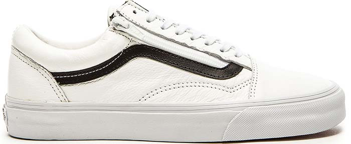 "Vans ""Old Skool"" Zip Premium Leather Sneakers"