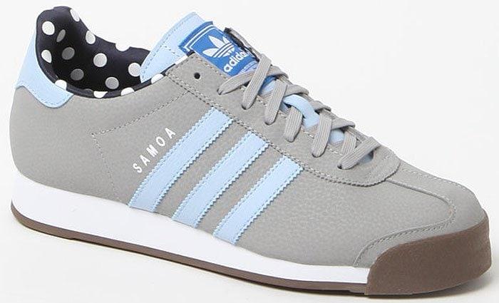 Adidas Samoa gray sneakers