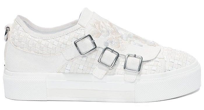 Alexander McQueen 3-Buckle Sneakers