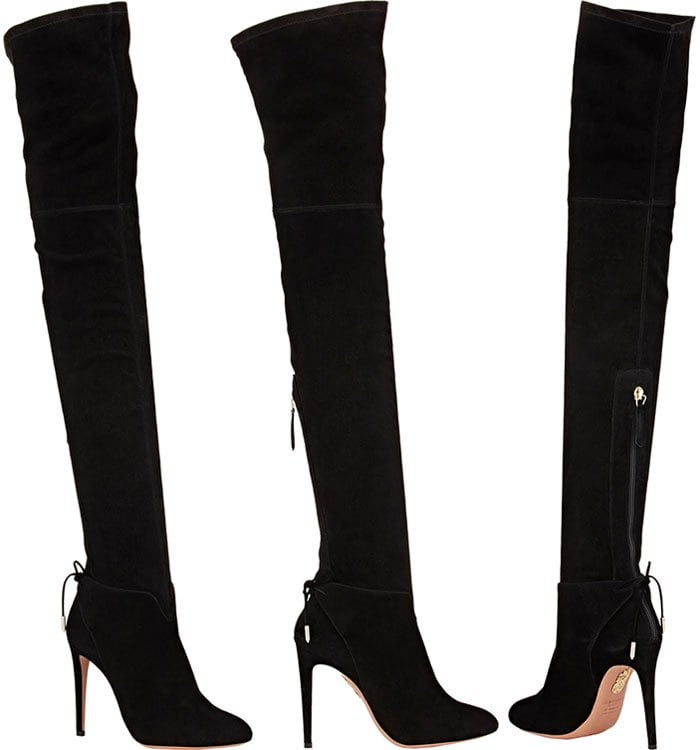 Aquazzura-Giselle-Cuissard-Suede-Boots